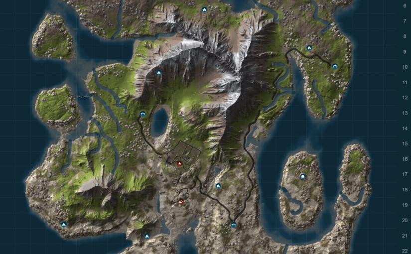 Fresh map